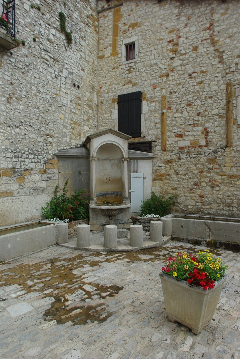 fontaine carrouge