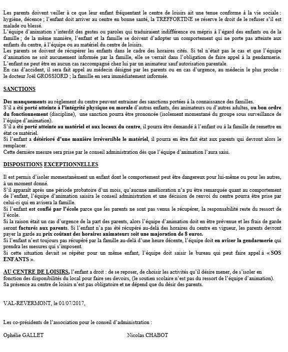 Réglement page 2