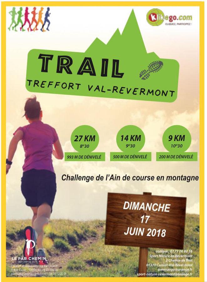 Trail Treffort Val Revermont