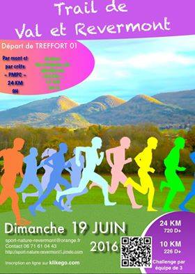 trail val revermont