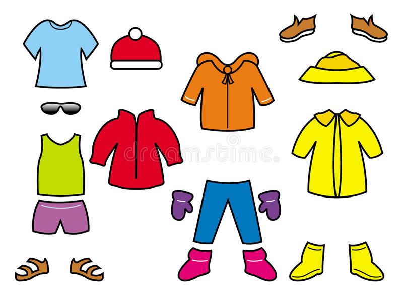 ramassage-des-vêtements-des-enfants