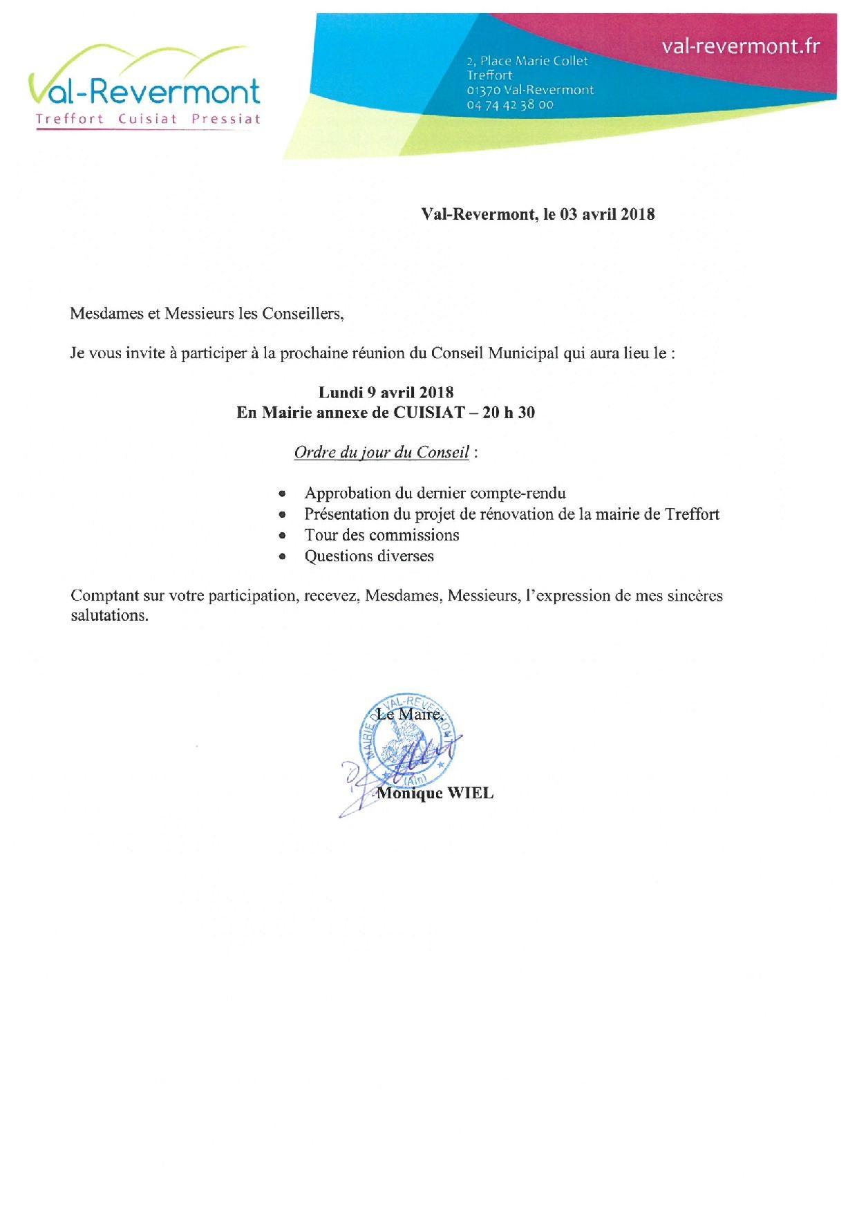 CONV CM avril 2018