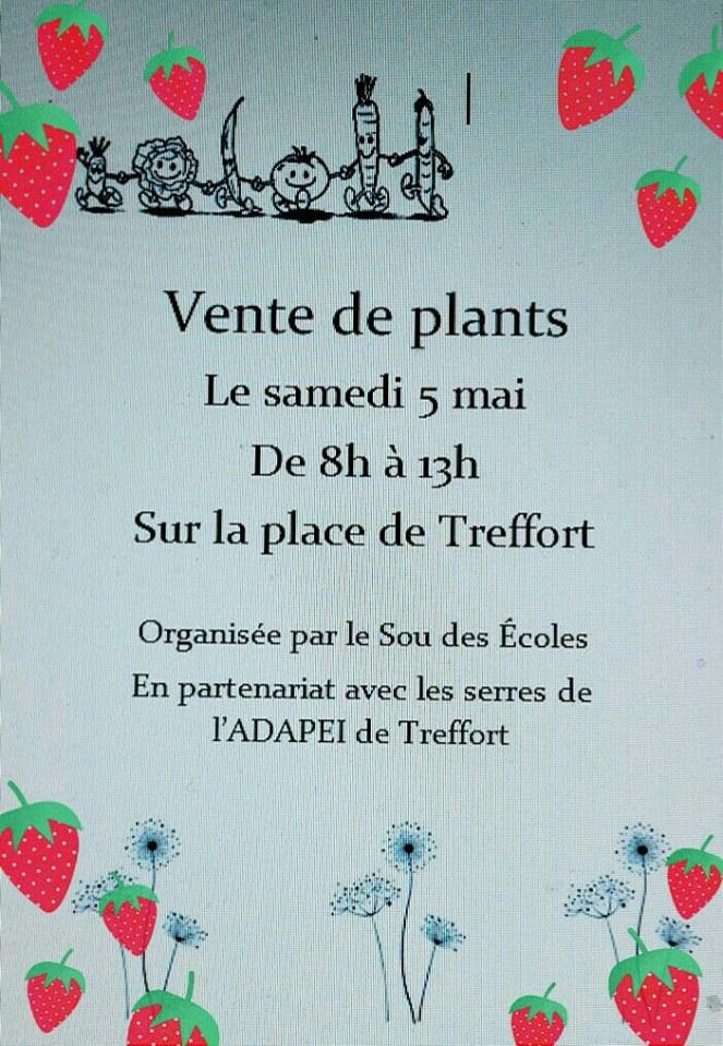 Vente de plants
