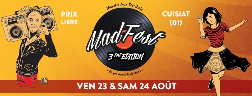 MADFest les 23 et 24 août à Cuisiat