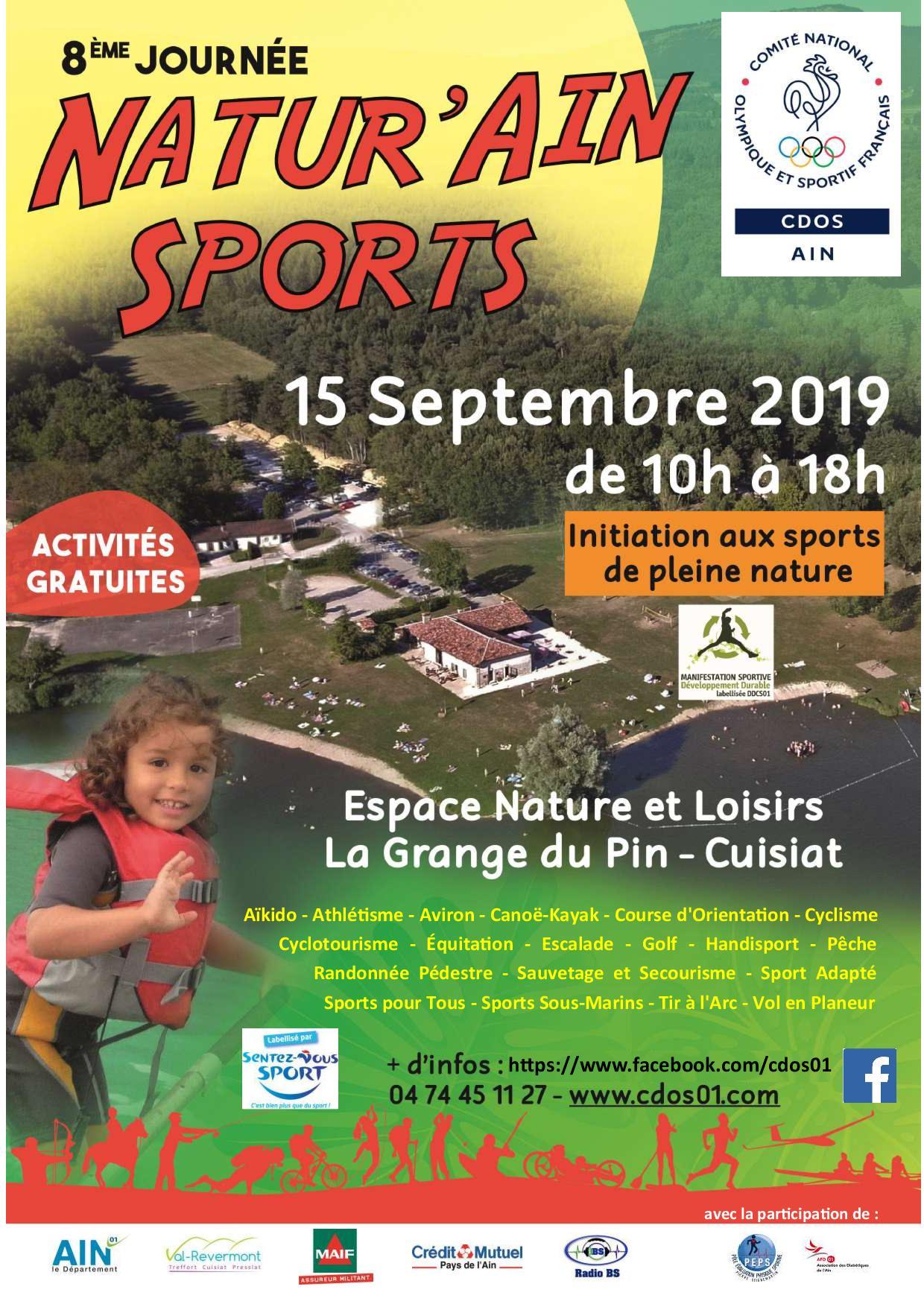 8ème journée Natur Ain Sports