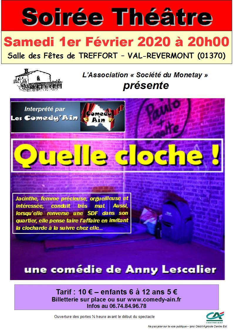 Soirée Théâtre organisée par l'association du Monetay