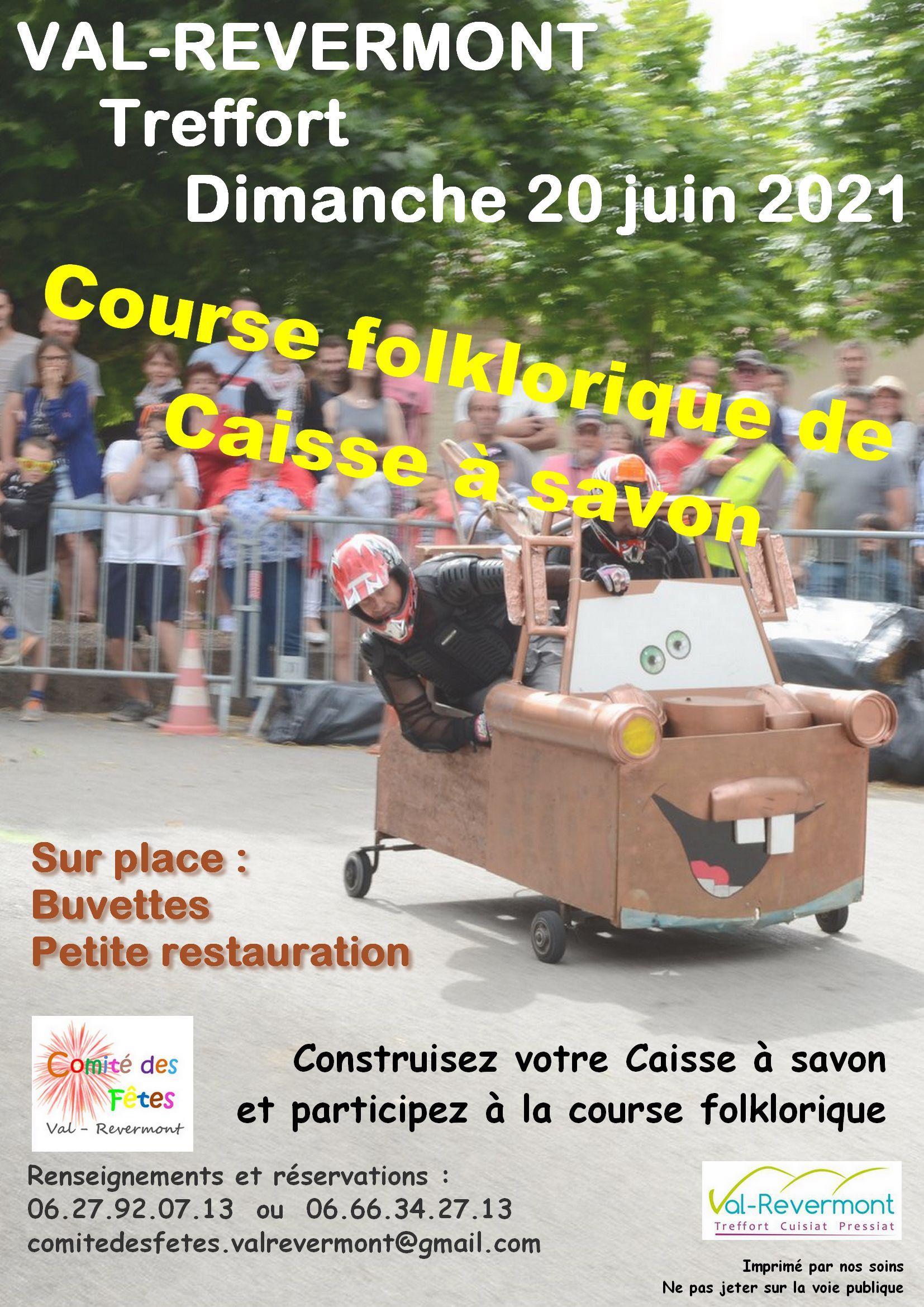 Calendrier Course Caisse A Savon 2021 Site officiel de la commune de Val Revermont, Ain. | Animations